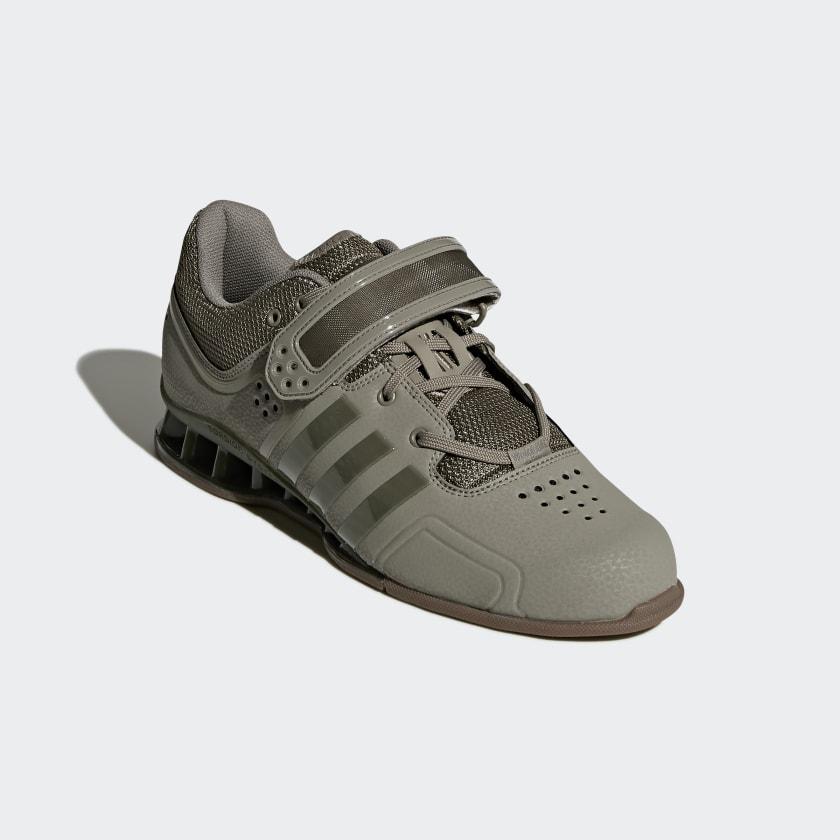 on sale 239e0 a42cd adidas France adiPower haltérophilie vert adidas Chaussures