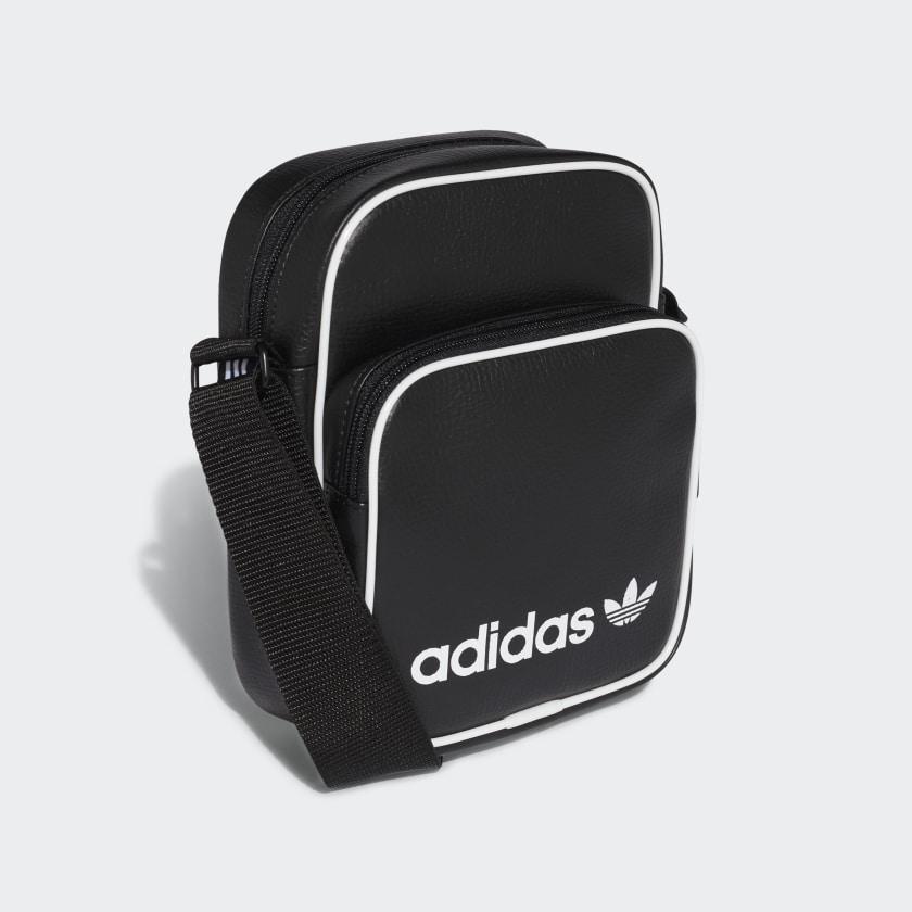 Chile Bolso Adidas Negro Vintage Mini Ynqtqixpzw