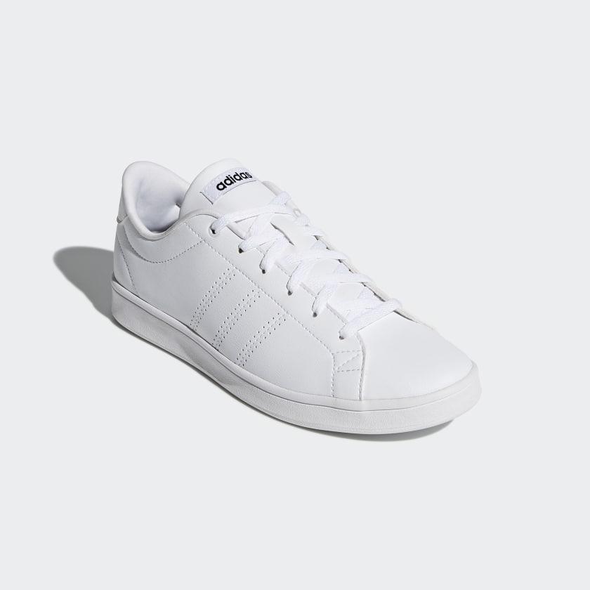 Clean Blanc Chaussure Switzerland Qt Advantage Adidas q7pWcfWw01