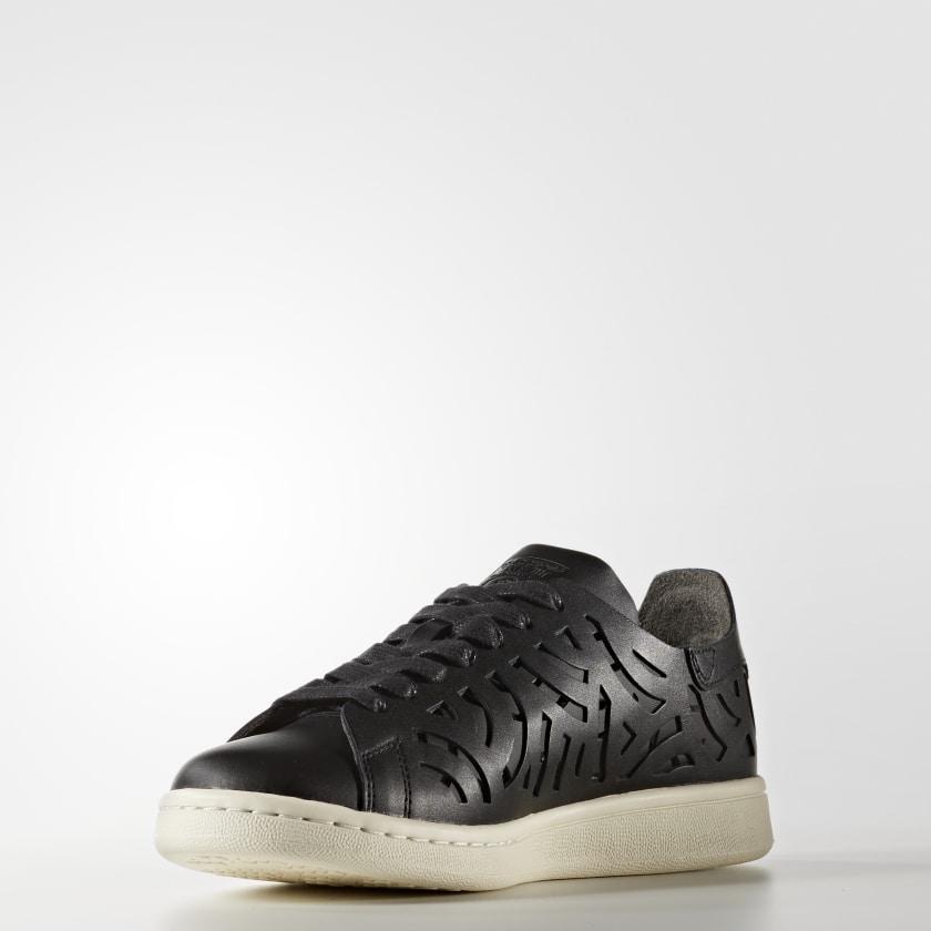 Italia Adidas Scarpe Stan Ewczh Nero Smith Cutout kw8n0XPO