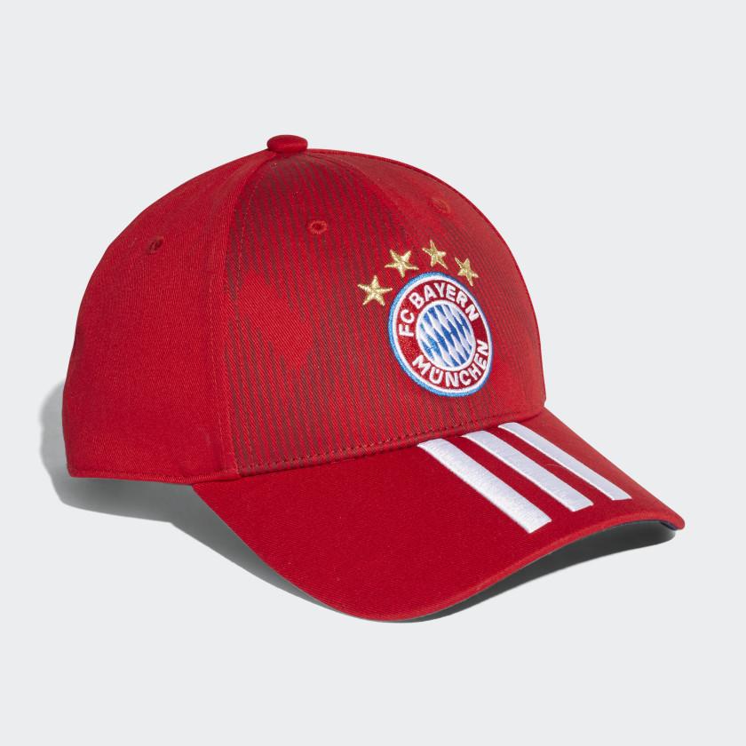 FC Bayern 3-Stripes Hat