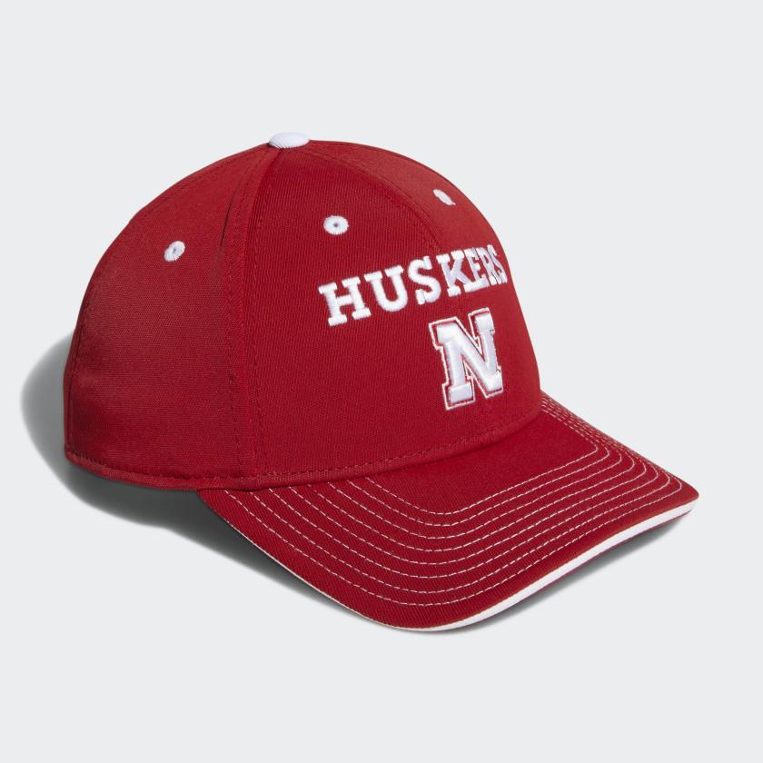 Cornhuskers Adjustable Hat