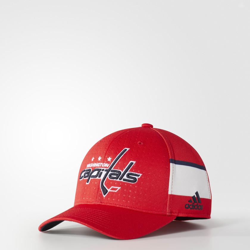Capitals Structured Flex Draft Hat