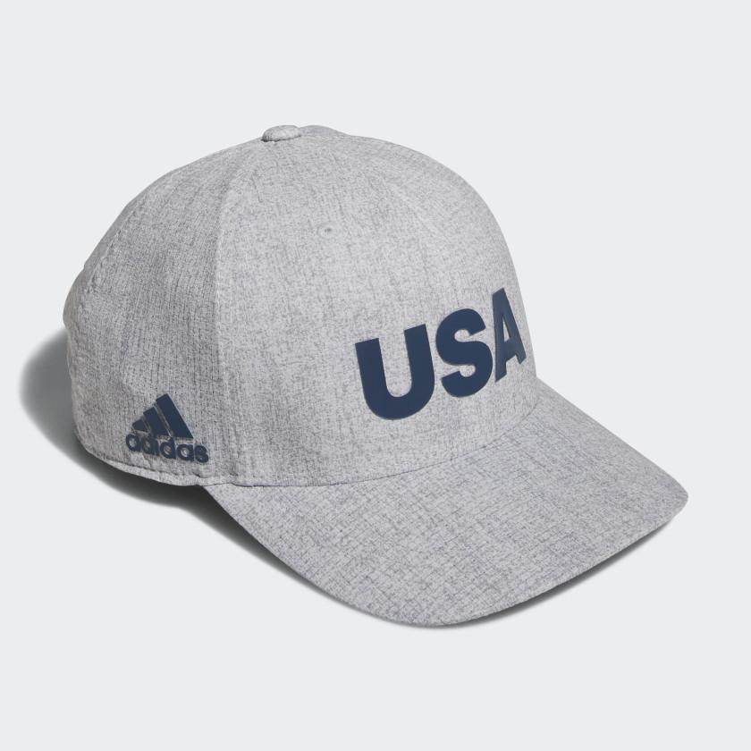 Heathered USA Hat