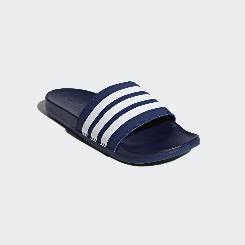 Adilette Cloudfoam Plus Stripes Slides