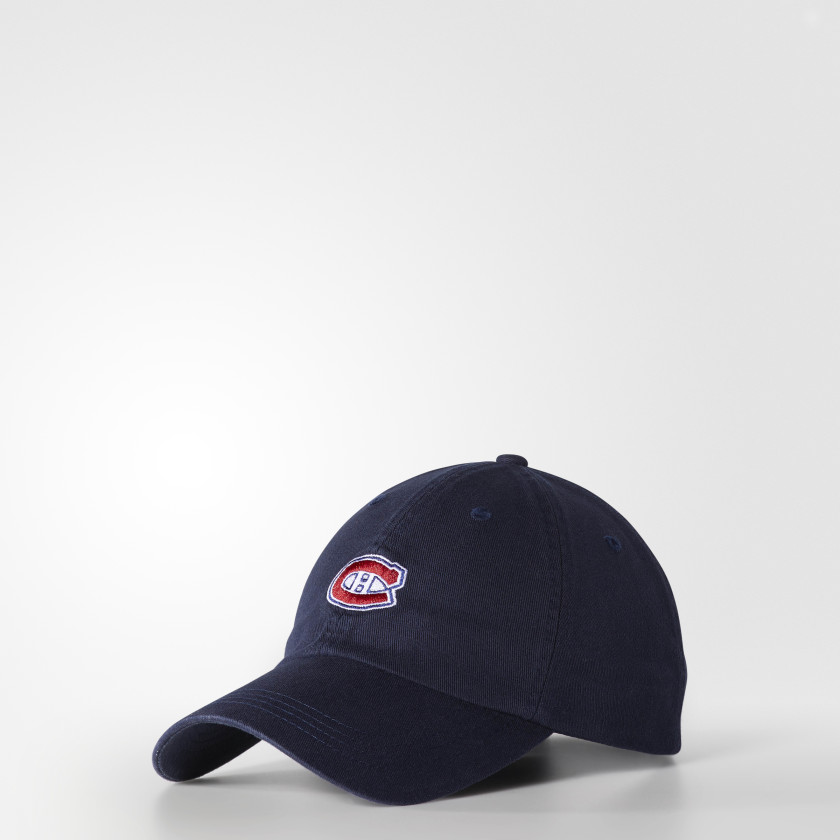 Canadiens Dad Adjustable Slouch Cap