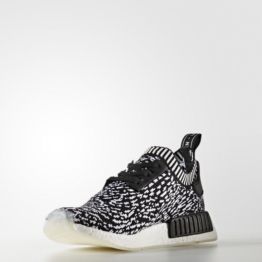 adidas nmd r1 primeknit shoes svart adidas sweden. Black Bedroom Furniture Sets. Home Design Ideas