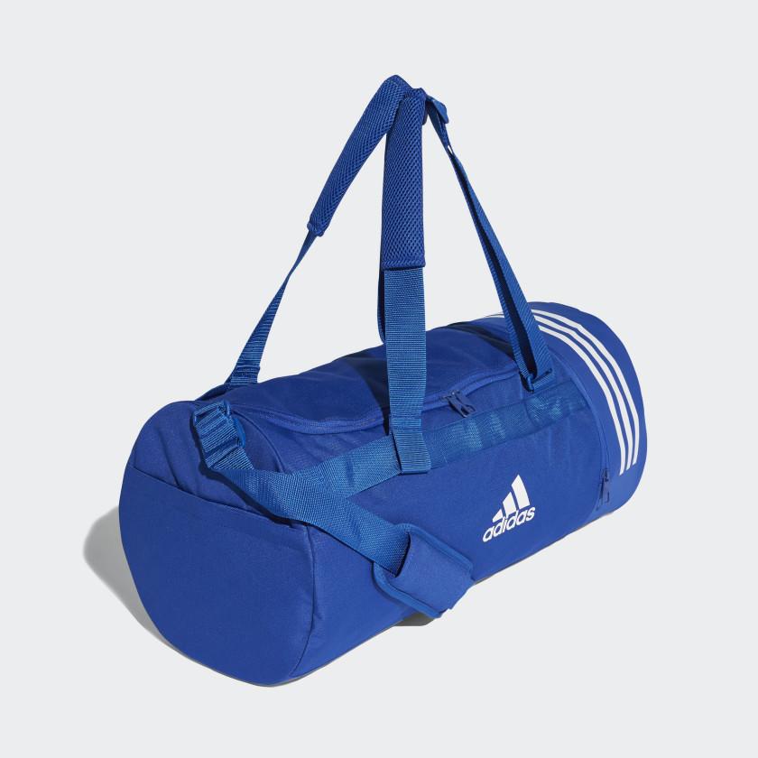Convertible 3-Stripes Duffel Bag Medium