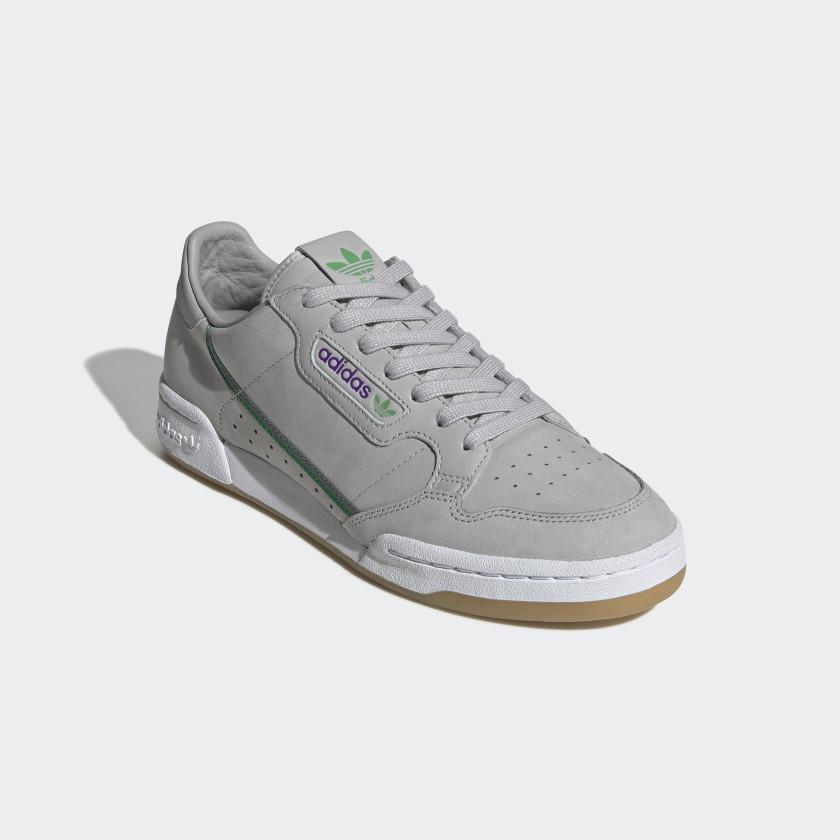 adidas continental 80 gris