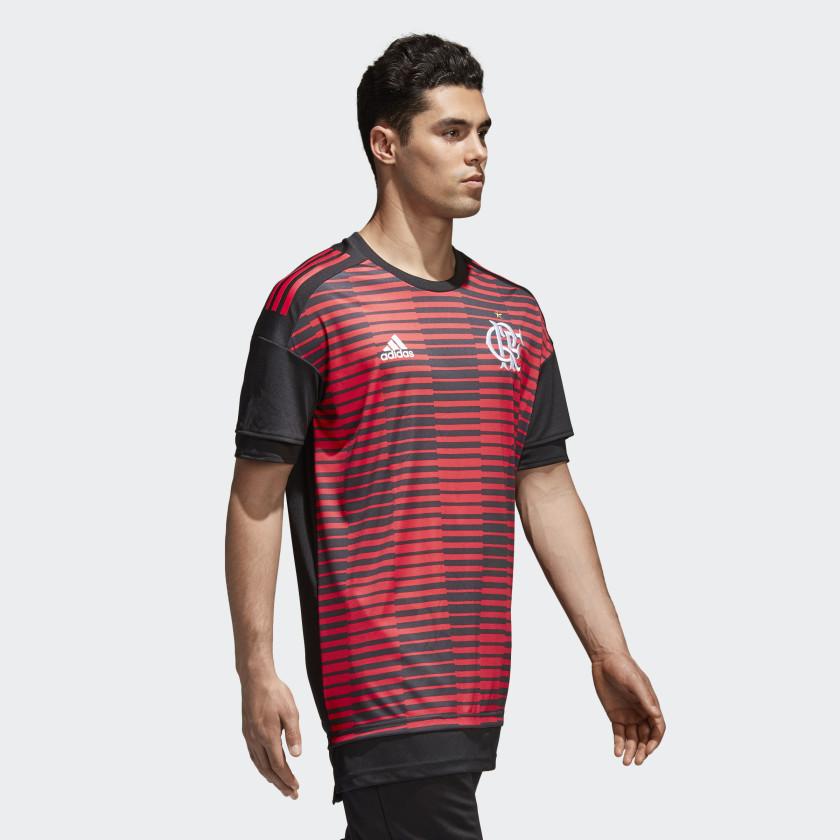 Camisa CR Flamengo Pré-Jogo 1