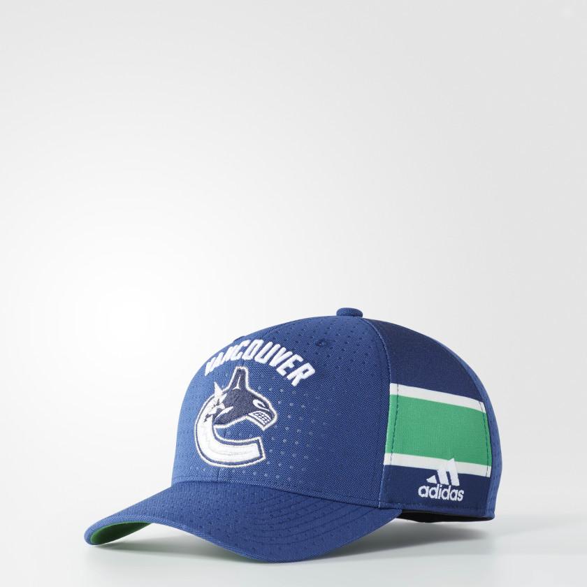Canucks Structured Flex Draft Hat