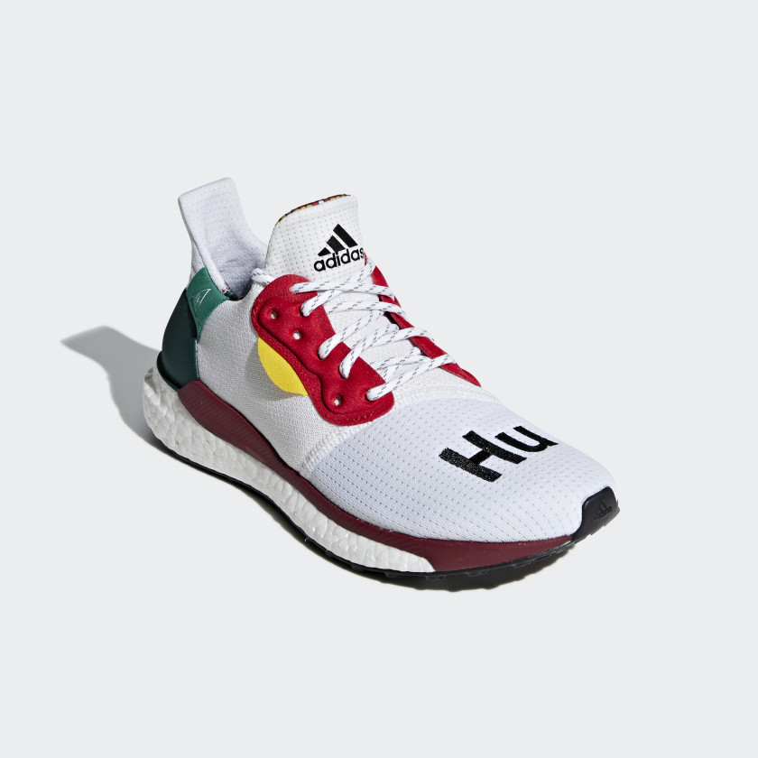 Pharrell Williams x adidas Solar Hu Glide ST Skor