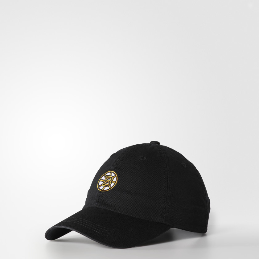 Bruins Dad Adjustable Slouch Cap