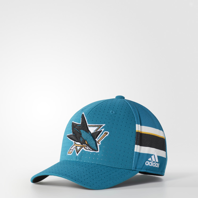 Sharks Structured Flex Draft Hat