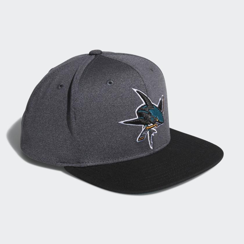 Sharks Snapback Heathered Grey Hat