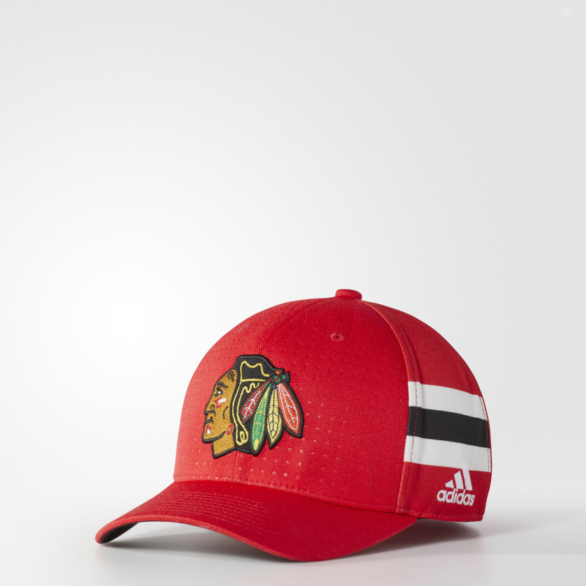 Blackhawks Structured Flex Draft Cap
