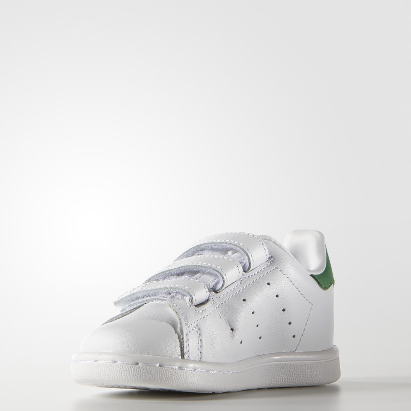 Tenis Stan Smith Con Velcro Bebés