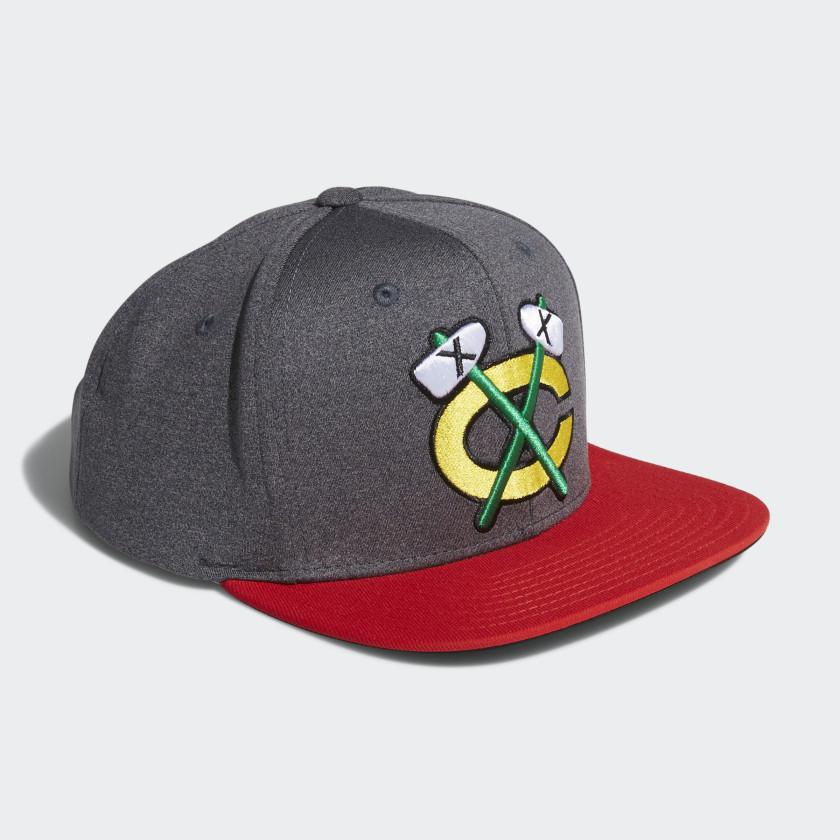 Blackhawks Snapback Heathered Grey Hat
