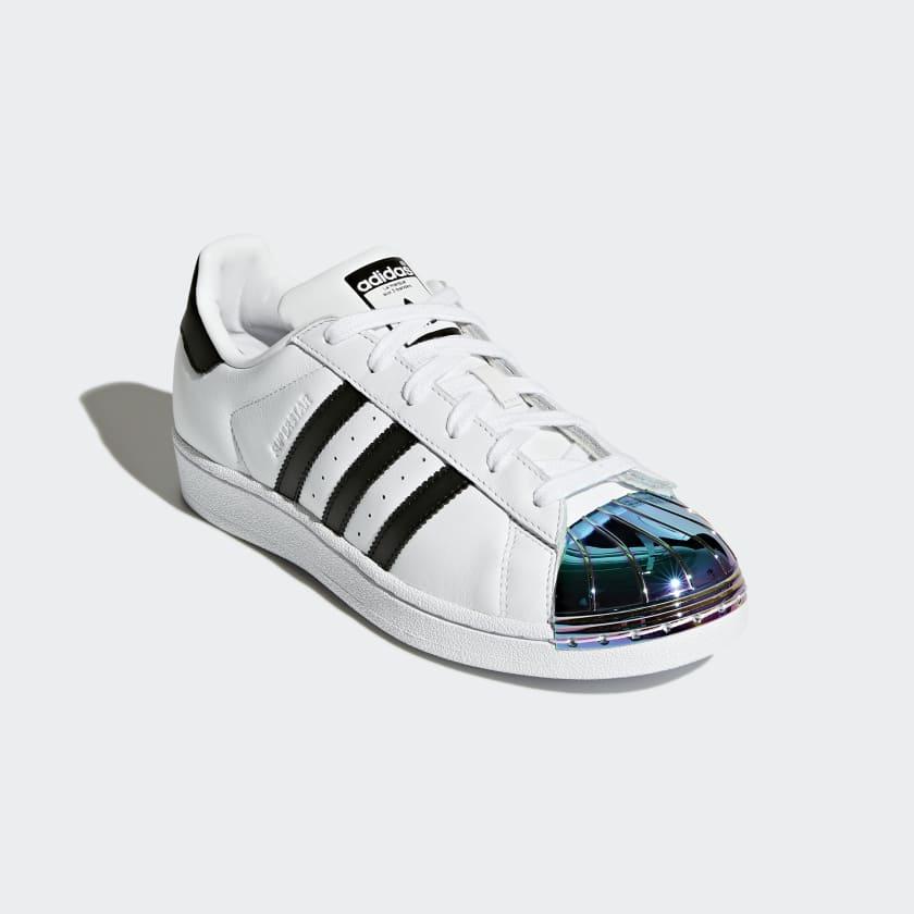 adidas superstar metal toe