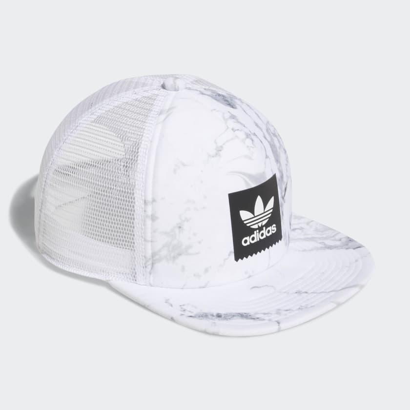 6f1a0fa77dd88 adidas Marble Trucker Hat - Multicolor