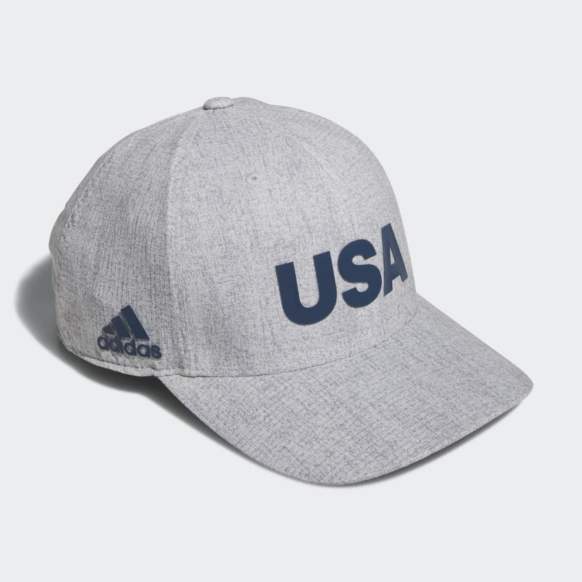 Heathered USA Hat