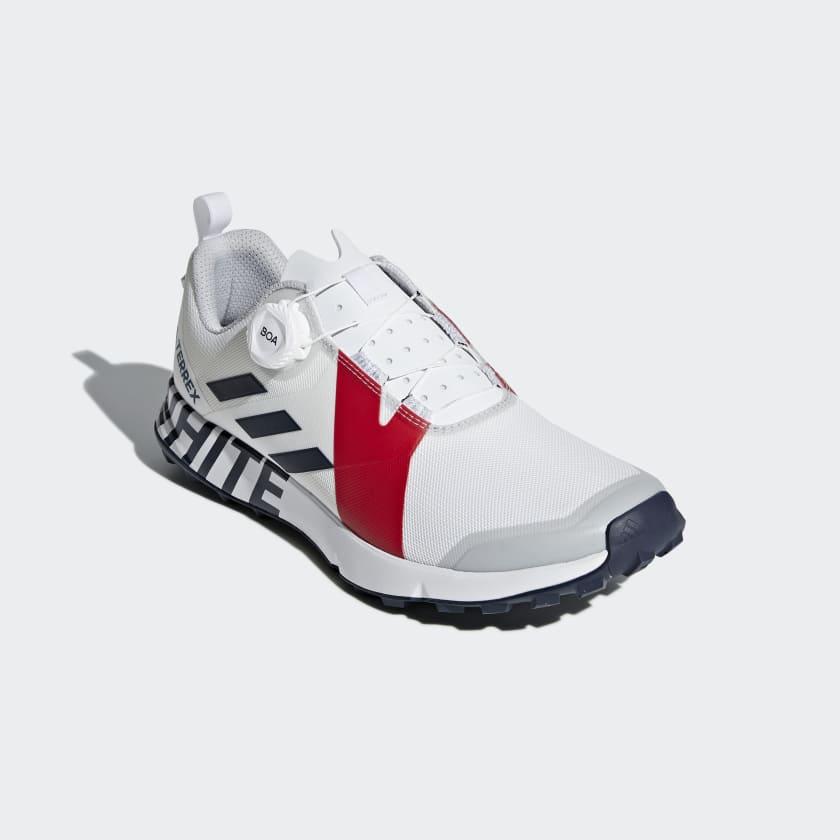 Terrex Two Boa White Mountaineering Shoes