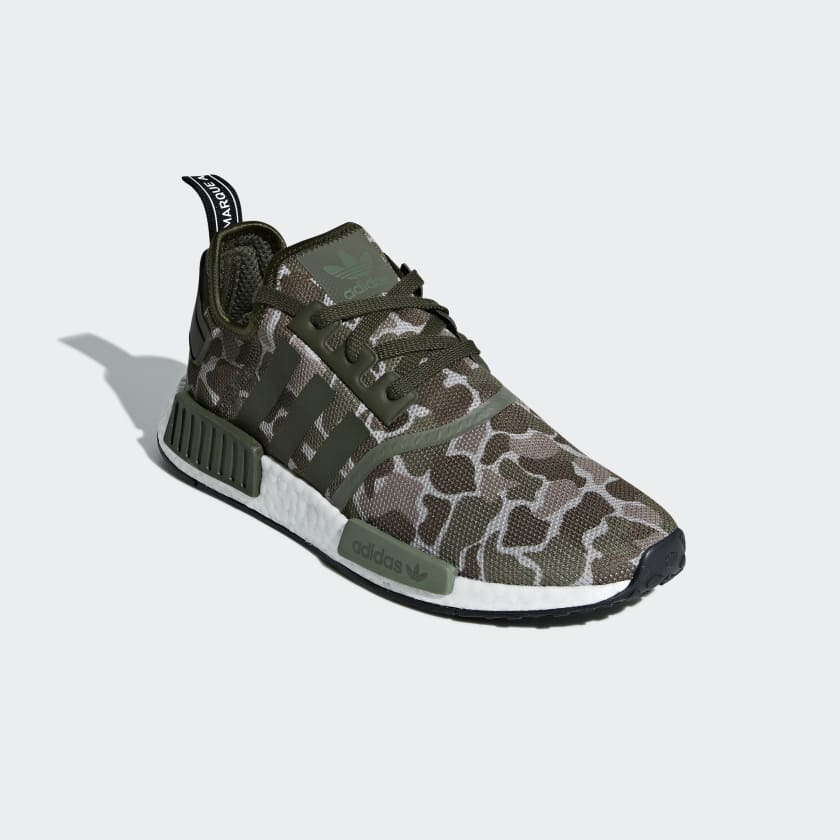 meet f64ca 15317 Adidas just released another clothing collection with BAPE, but no kicks.  Dont worry, they have you covered with two new Duck Camo colorways for the NMD  R1 ...
