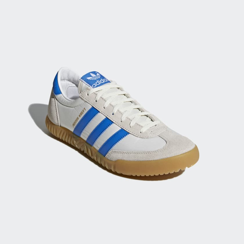 Indoor Kreft Spezial Leather-trimmed Shell And Suede Sneakers - Whiteadidas Originals