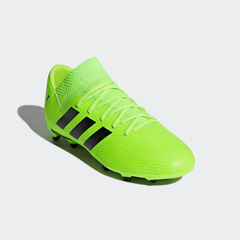 Calzado de Fútbol Nemeziz Messi 18.3 Terreno Firme Niño