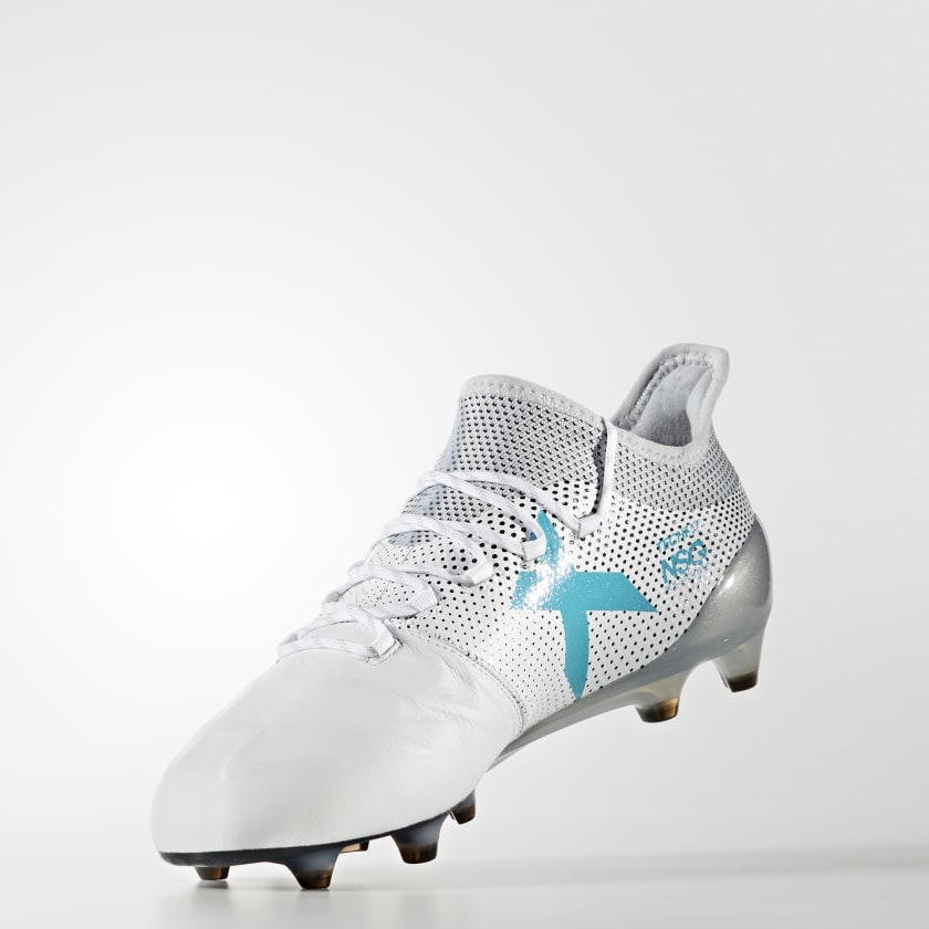 X 17.1 Firm Ground Leather Cleats