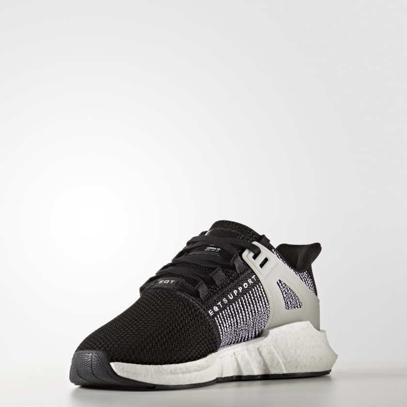 EQT SUPPORT - Sneaker low - burgundy/footwear white/offwhite