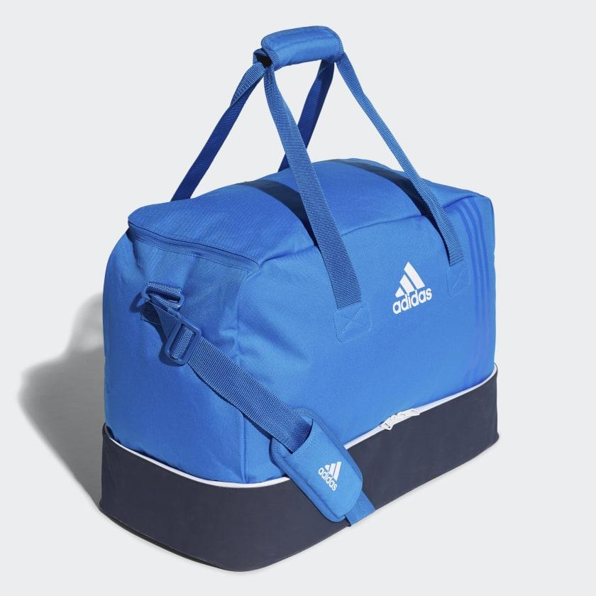 adidas Tiro Team Bag with Bottom Compartment Medium - Blue  9e2082ac09ab8