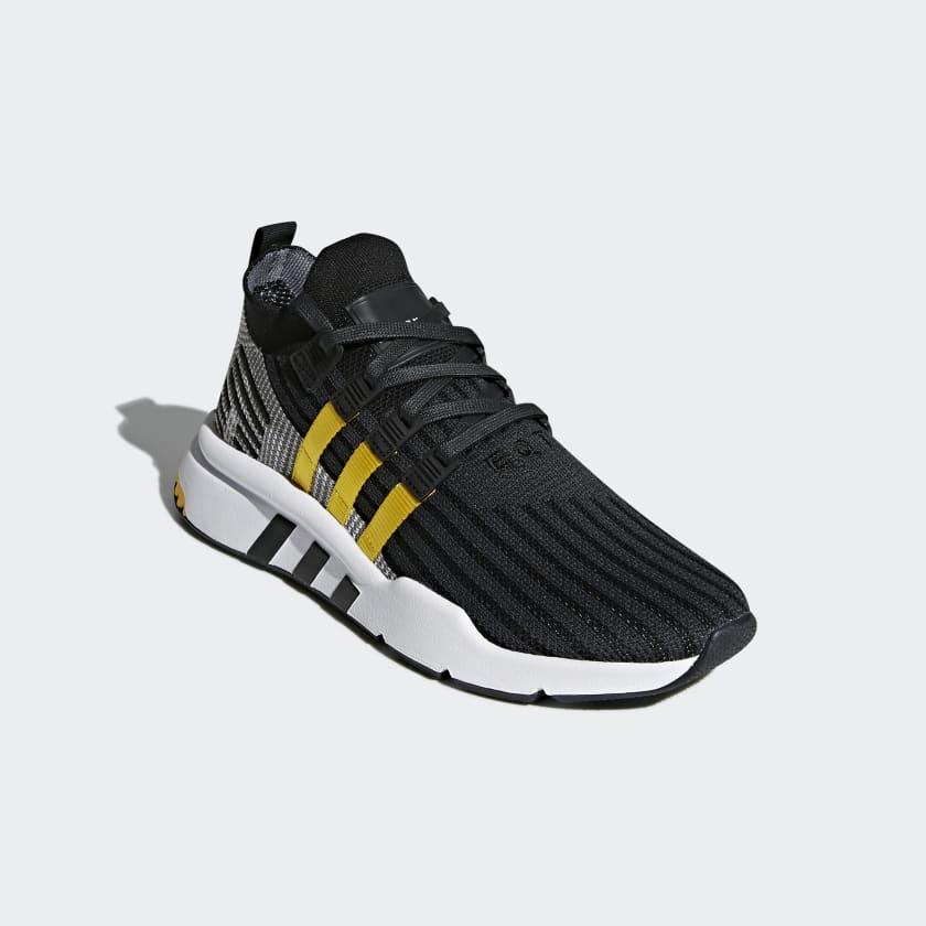 EQT Support Mid ADV Trainers In Black CQ2999 - Black adidas Originals