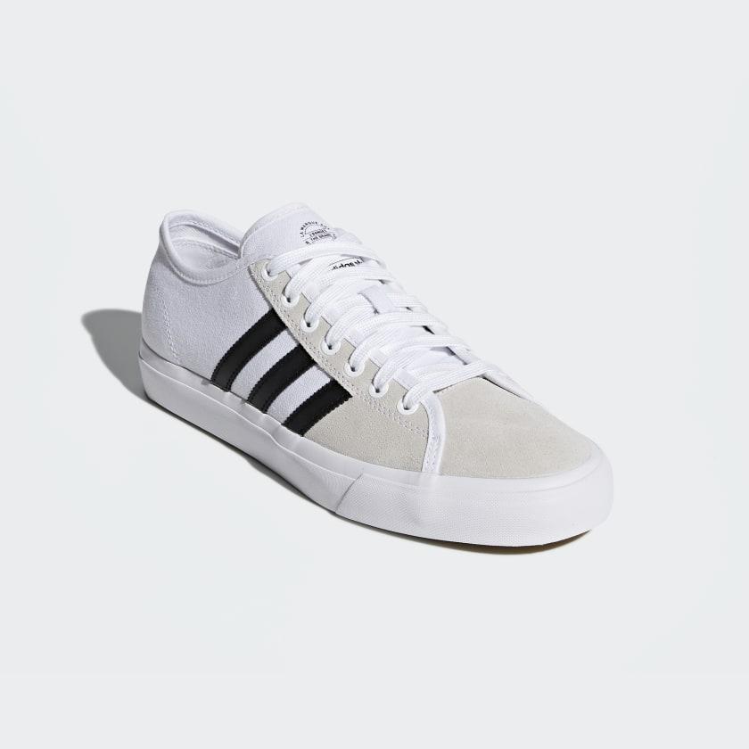 adidas Skateboarding Matchcourt RX Trainers In White CQ1129 - White adidas