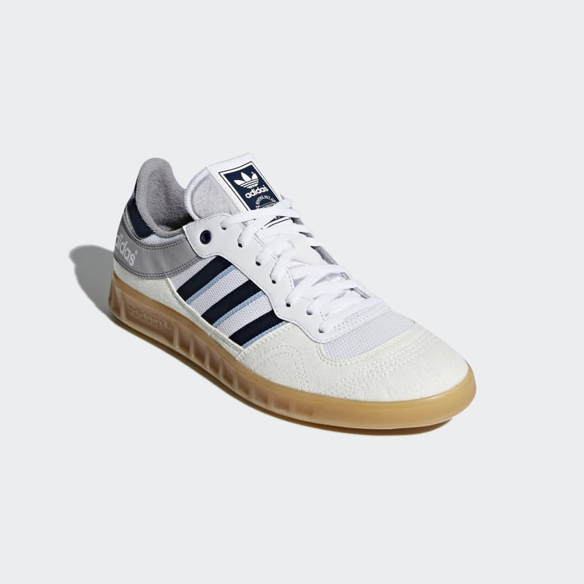Liga Faux Suede, Leather And Mesh Sneakers adidas Originals