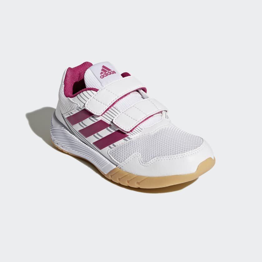 3a08314a7eae9b These kids  running shoes provide support and comfort for all kinds  activities. The breathable mesh upper helps keep active feet cool