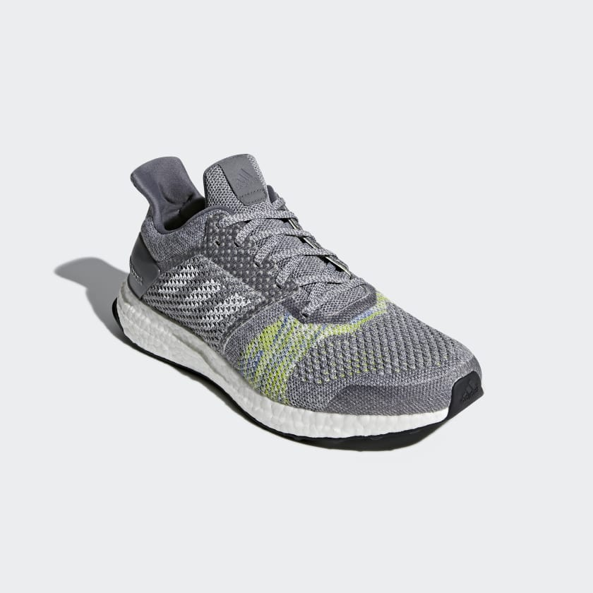 Adidas adizero Primeknit Mens Running Shoes Grey MRX0135