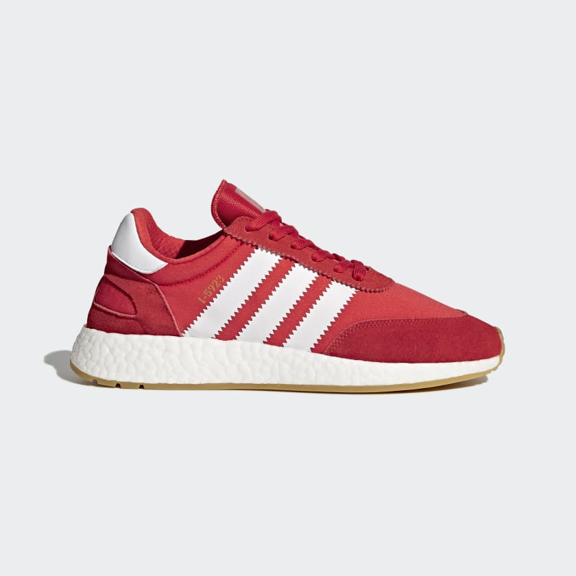 Adidas I-5923 Red Trainers