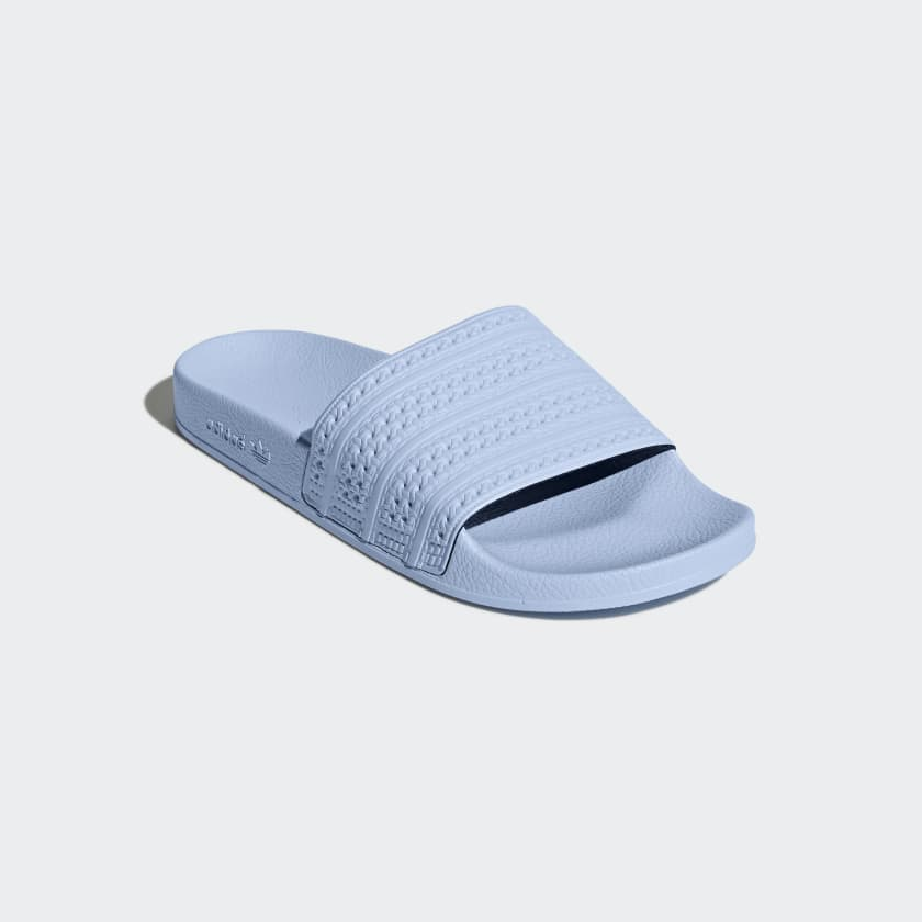 5df04714b515e0 Brand New  50 adidas adilette Slides BA7539 Pastel Baby Blue