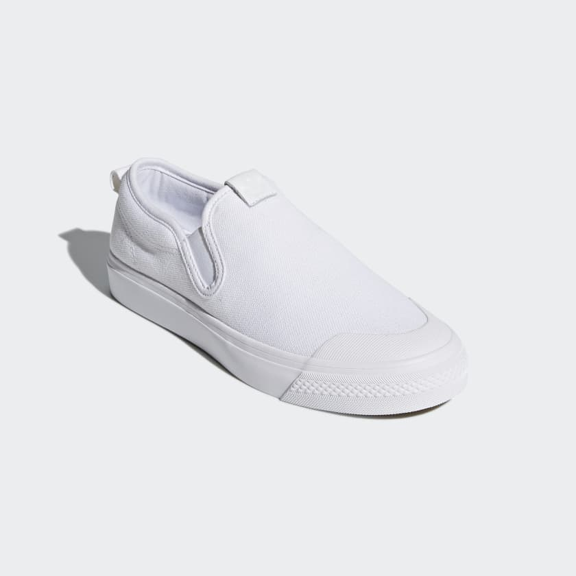 The Adidas Originals NIZZA White Sneaker DZ0498 New Year Deals