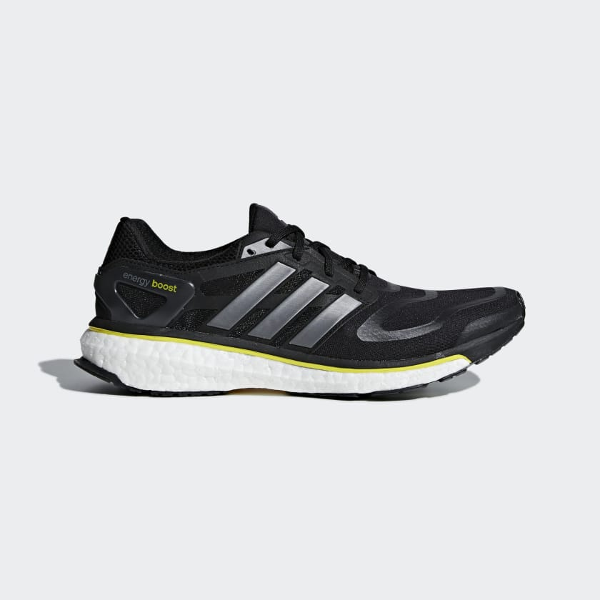 adidas Men's Energy Boost OG Running Shoes in (Black)