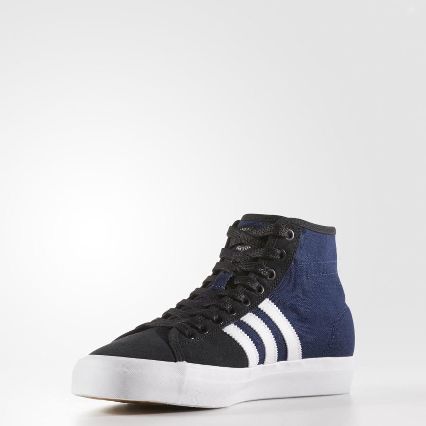 Adidas Matchcourt High RX Mens Originals Shoes Black LSR4962