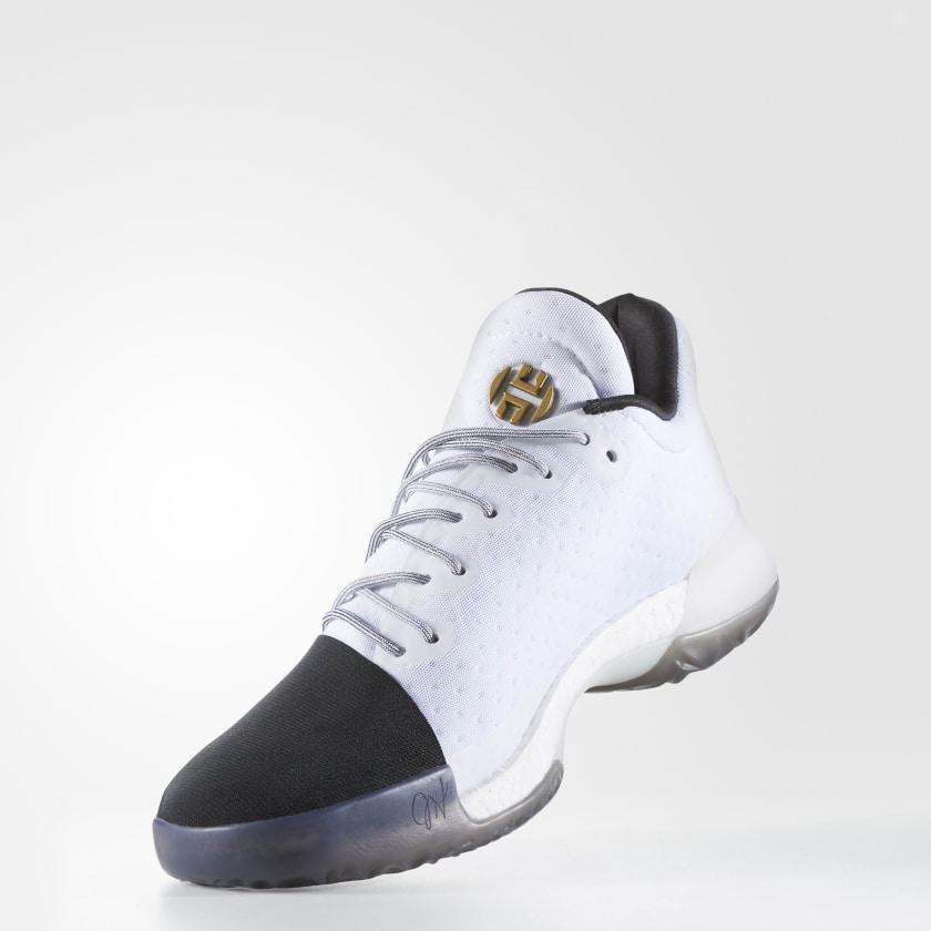 James Harden Gold Shoes