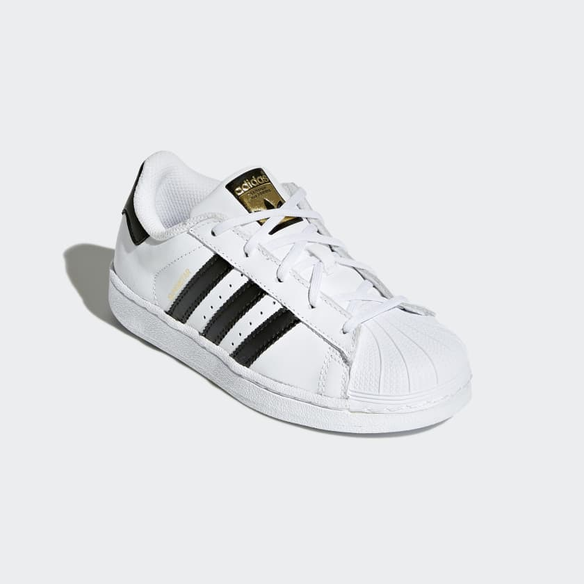 superstar foundation shoes white