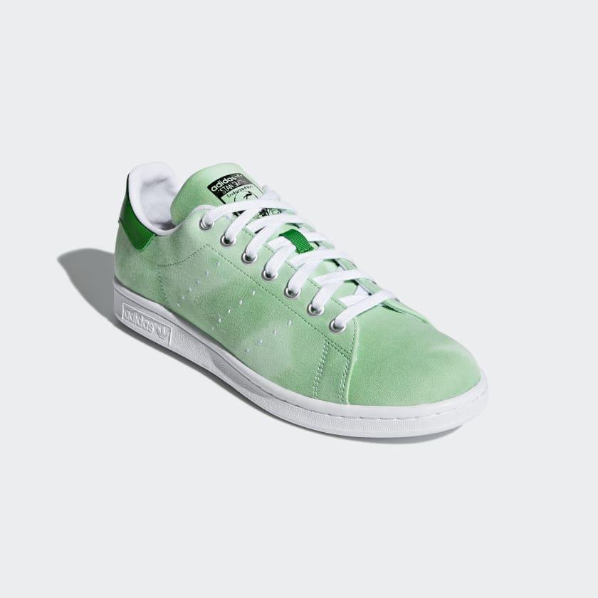 X Adidas x Pharrell Williams Hu Holi Stan Smith - Green / White