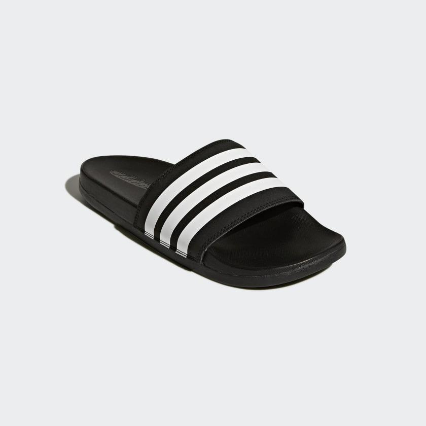 Sandale Adilette Cloudfoam Plus Stripes