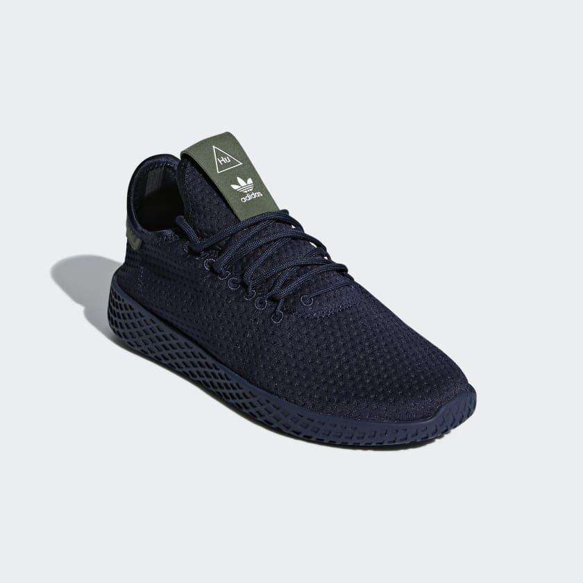 b9e8fe7b07e03 adidas Pharrell Williams Tennis Hu Shoes - Blue