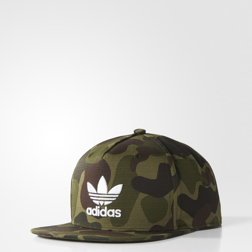 Cappellino Camouflage Snap-Back