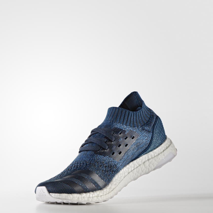 sports shoes 73c2b e359b ADIDAS ULTRABOOST UNCAGED PARLEY eco-friendly Blue BY3057 SNEAKERS MENs 9