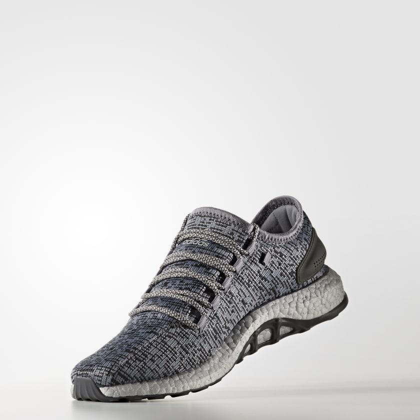 9f78e1ae7 2017 adidas Pure Boost LTD   Triple Grey   Sneakers S80703 For Sale